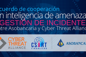 Asobancaria y Cyber Threat Alliance firman acuerdo de cooperación en inteligencia de amenazas y gestión de incidentes