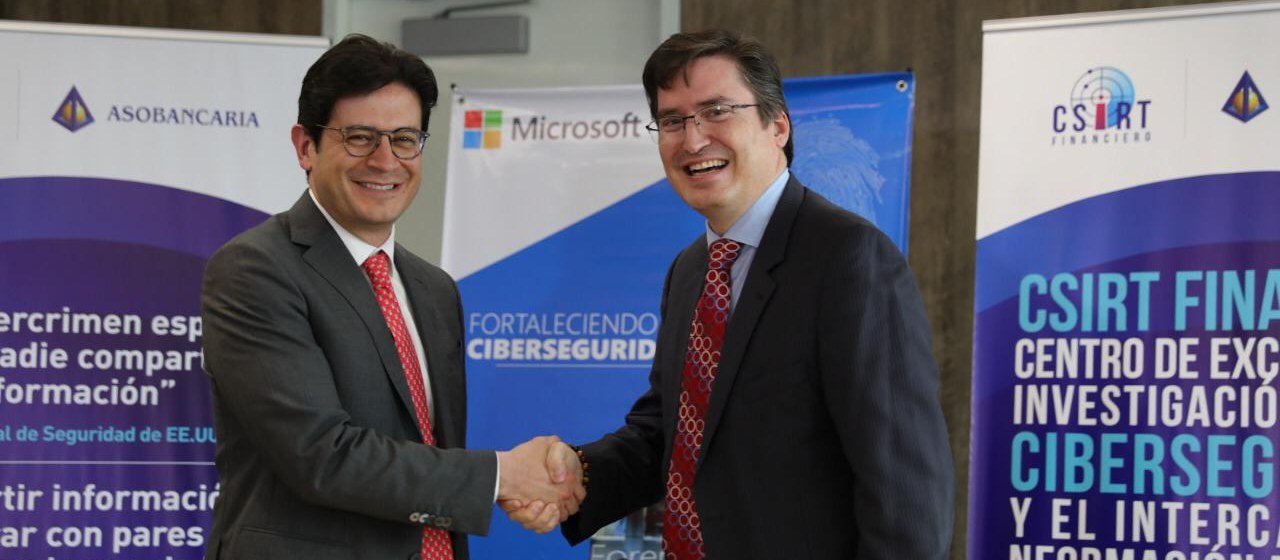 Asobancaria y Microsoft se unen para promover la ciberseguridad y la transformación digital en el sector financiero
