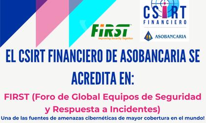 CSIRT Financiero de Asobancaria recibe la acreditación del FIRST