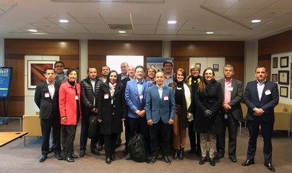Misión ciberseguridad del sector financiero colombiano a EEUU